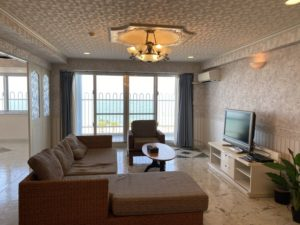 Beachside Condominium Right on Araha Beach!